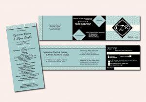 TriFold Invite and program