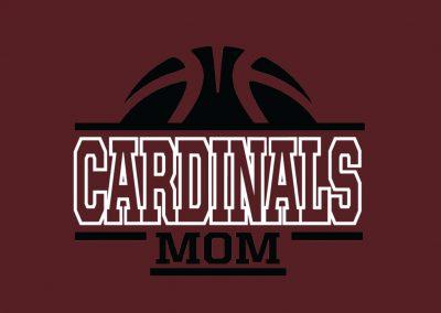 Cardinals Basketball Mom