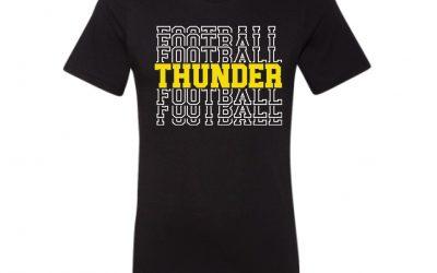 EHS Thunder Football Apparel