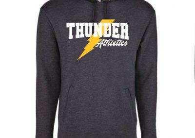 Next Level Hooded Sweatshirt: Thunder Athletics